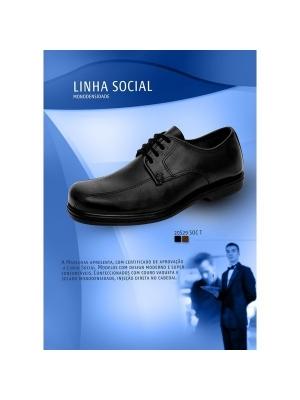 LINHA DE CALCADO SOCIAL